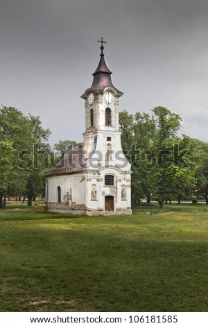 Old small place of worship in Hungary