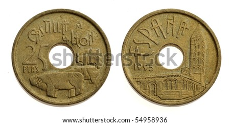 Old Spanish Coins Images Old Spanish Coin