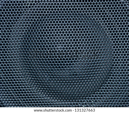 old speaker grille texture