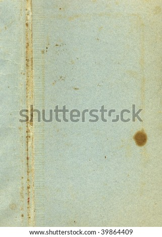 Old stained paper #39864409