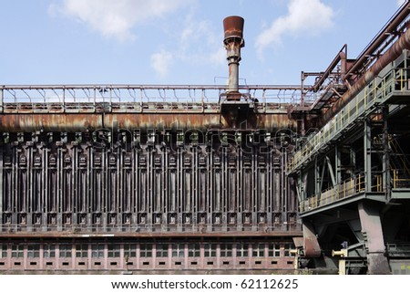 Old steel production in Essen, Germany