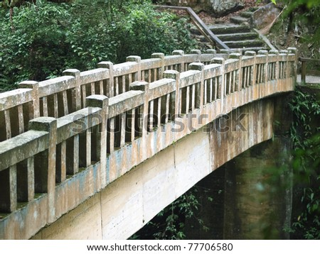 Old Stone Bridge - stock photo