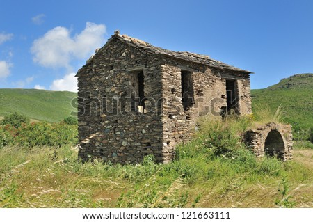Old Stone House in Corsica (France)