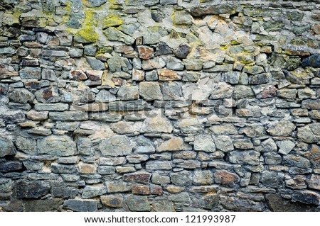 Old stone wall. Background concept