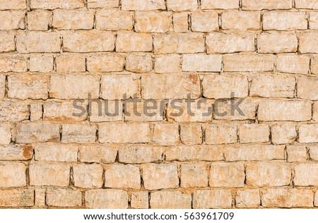 Old stone wall blocks.