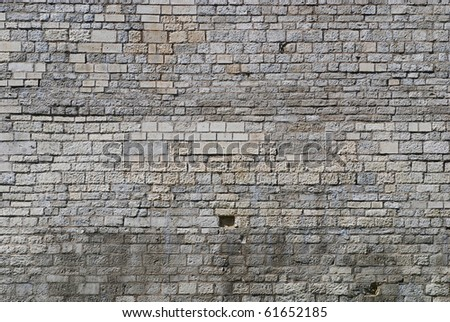 old stone wall pattern natural surface