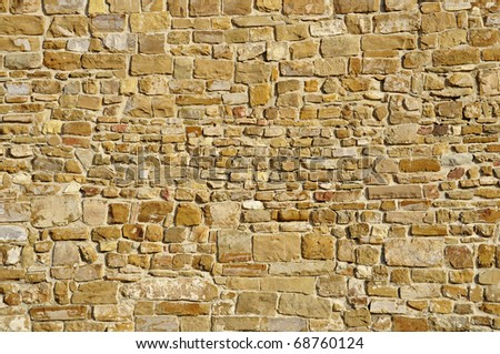 Old stone wall, perfect for texture or background