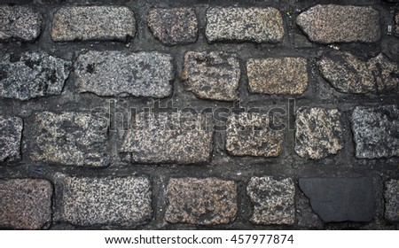 Old Stones Background Rustic Grey Stone Wall Close Up Photo For Backdrop Shabby Natural