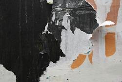 Old street poster grunge texture