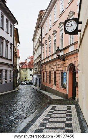 Old Streets of Prague