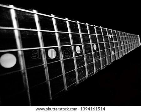 Old strings of guitar strings