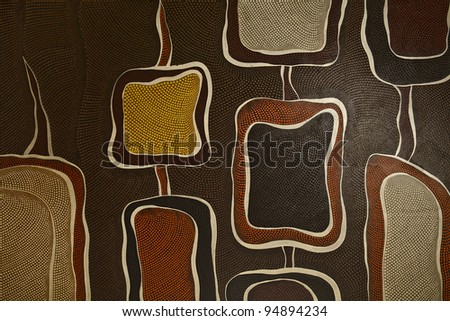 Old style batik background.