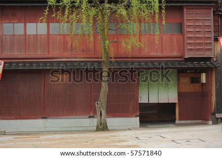 old style Japanese shop
