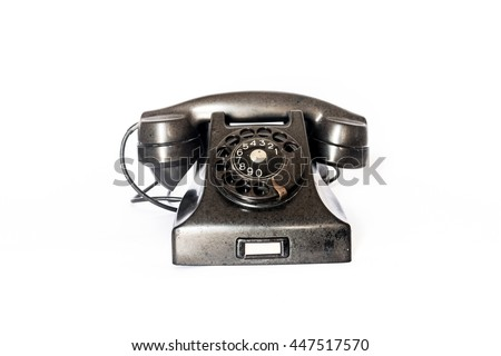 Old Style Phone #447517570