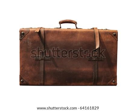 Old suitcase Stock photo ©
