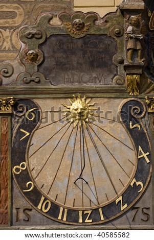 Old sundial #40585582