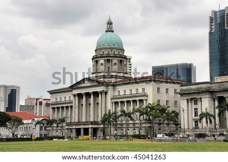 Supreme Court Singapore Pictures on Old Supreme Court Building In Singapore  Classical Architecture In