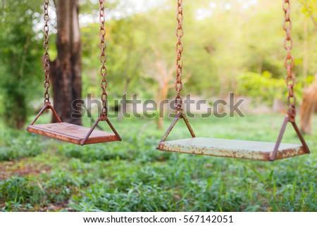 Old swing #567142051