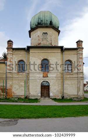 Old synagogue in Brezno, Slovakia