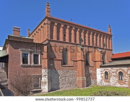 Old Synagogue in Jewish Kazimierz district of Cracow, Poland