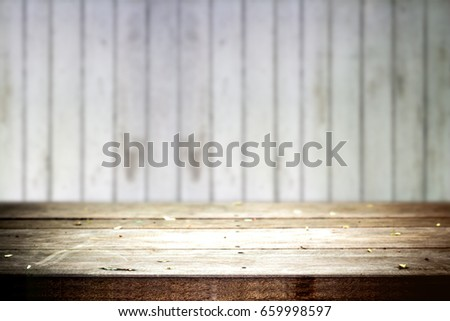 Old table with Old Wood background #659998597
