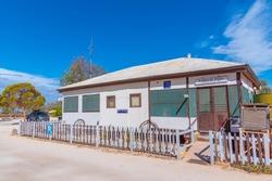 Old telegraph station at Hamelin pool in Australia
