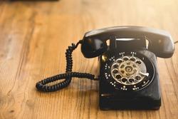 Old telephone,Retro,vintage telephone