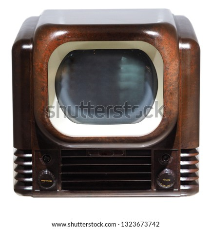 old televisions, history of televisions #1323673742