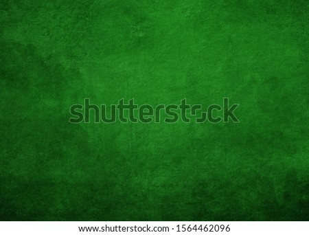 old texture, green concrete wall grunge background