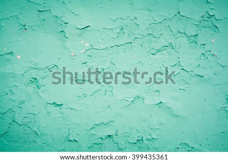 stock photo old texture turquoise blue cracked wall the old paint texture is chipping and cracked fall 399435361 - Каталог — Фотообои «Текстуры»