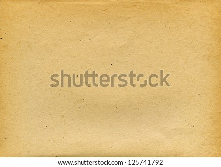 Old textured recycled paper with natural fiber parts