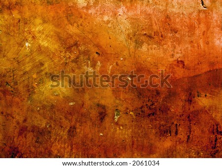 old textured wall background ready for design work