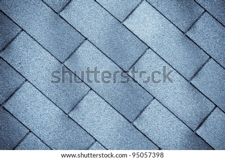 old tiles roof texture close-up