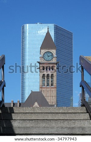 Old Toronto City Hall Tower