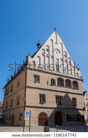 Old Town hall, Weissenburg, Bavaria #1180167745