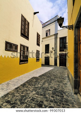 Old Town in Las Palmas, Gran Canaria, Canary Islands, Spain