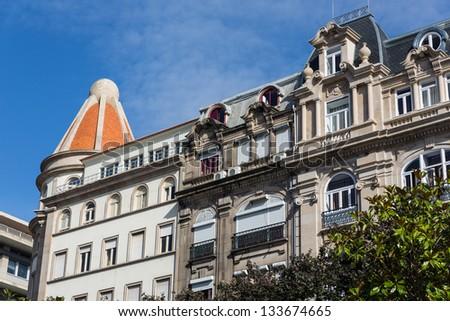 Old town in Porto (Portugal) #133674665