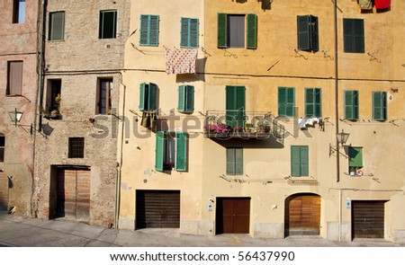 old town in siena
