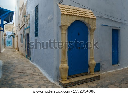 Old town in Tunisia - Hammaet Tunisia #1392934088