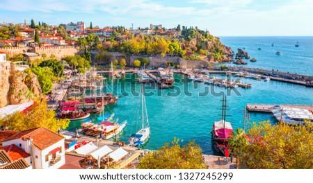 Old town (Kaleici) in Antalya, Turkey #1327245299