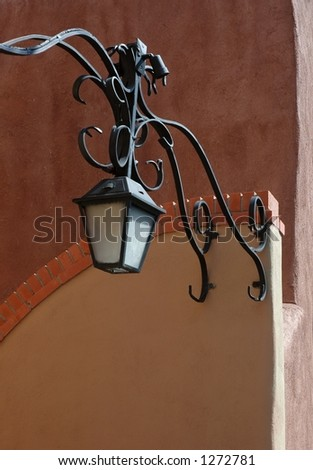 old town lamp