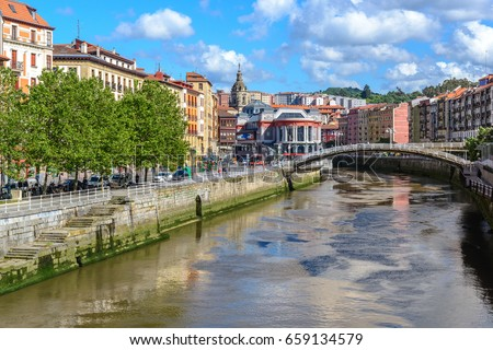 Old town of Bilbao, Basque Country, Spain