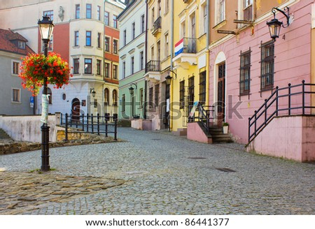 old town of lublin  poland