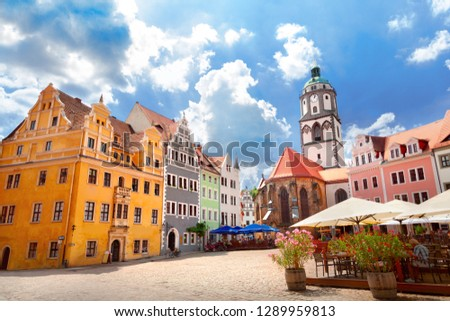 Old town of Meissen, Germany