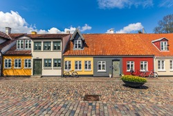 Old town of Odense, Denmark