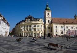 Old town view, Sibiu Romania