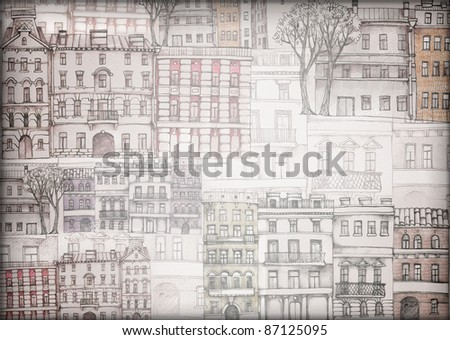 old town wallpaper