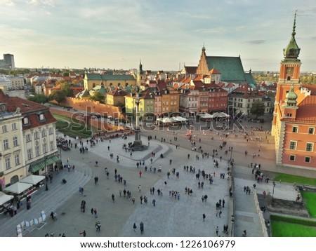 Old town Warszawa #1226106979