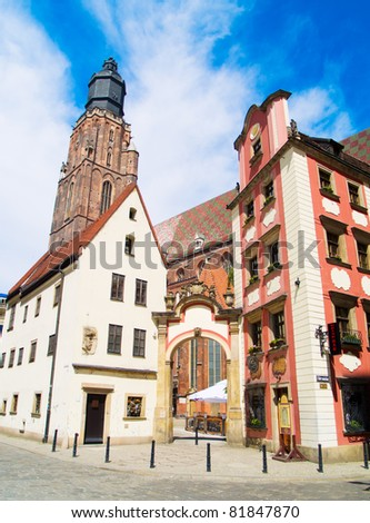 old town, Wroclaw, Poland