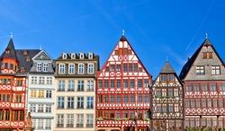 Old traditional buildings in Frankfurt, Germany
